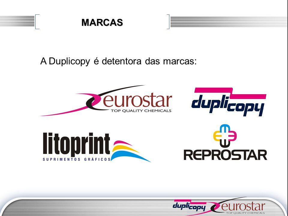 MARCAS A Duplicopy é detentora das marcas: