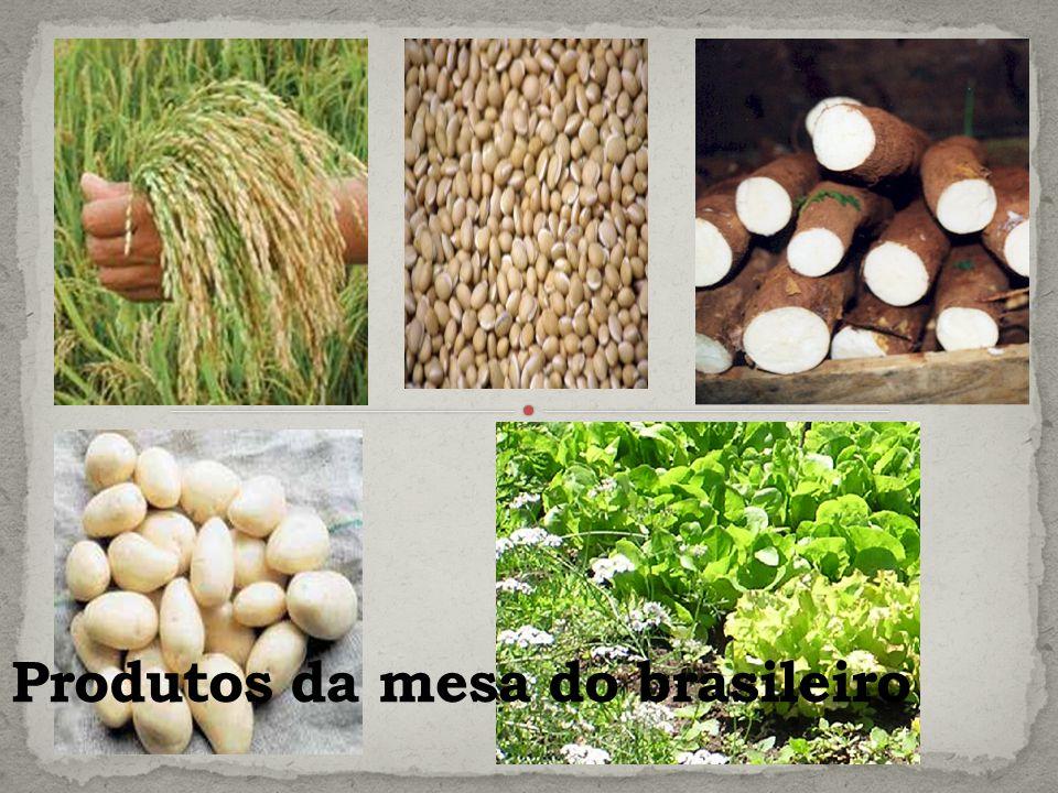 Produtos da mesa do brasileiro
