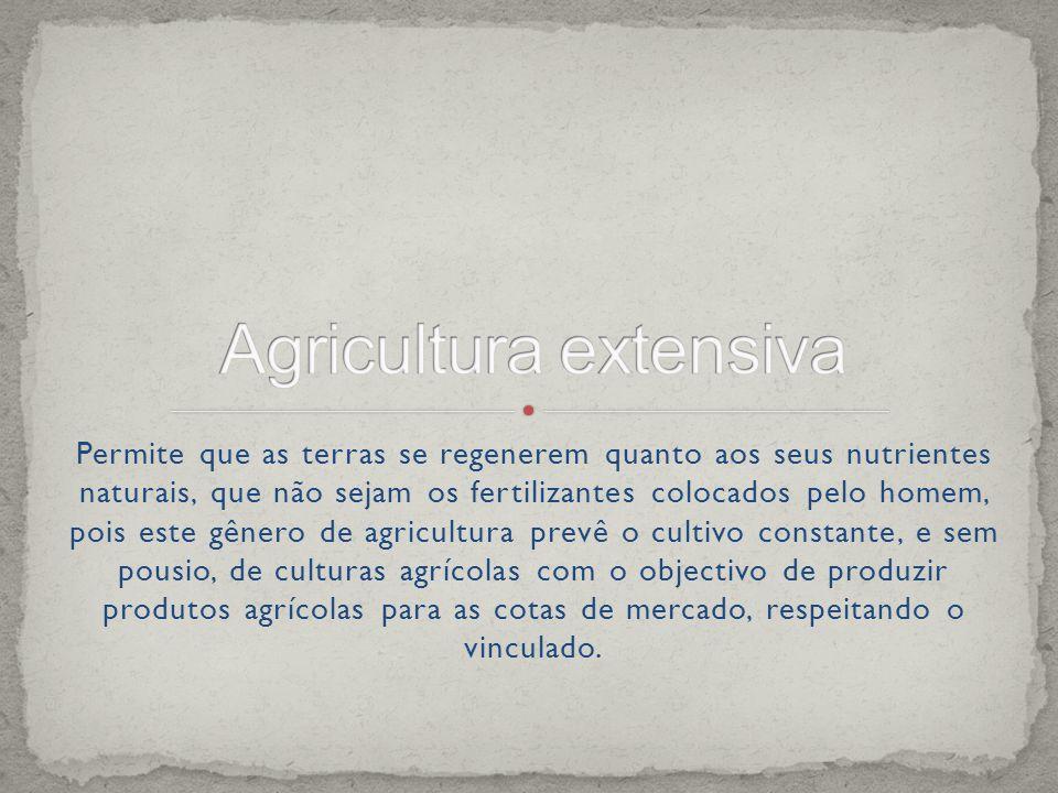 Agricultura extensiva