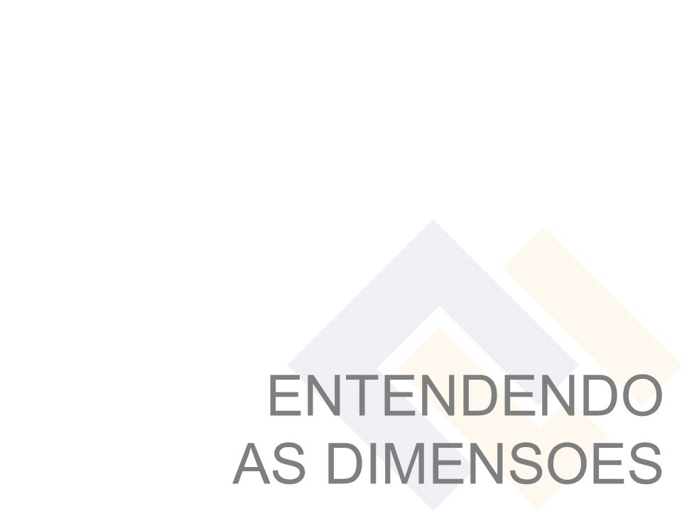ENTENDENDO AS DIMENSOES