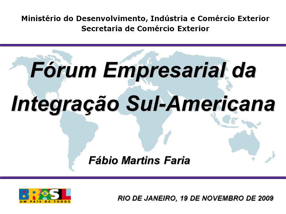 Fórum Empresarial da Integração Sul-Americana