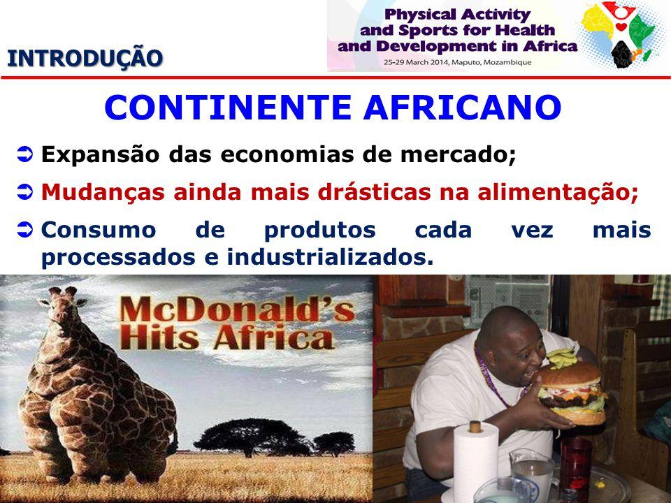 CONTINENTE AFRICANO INTRODUÇÃO Expansão das economias de mercado;