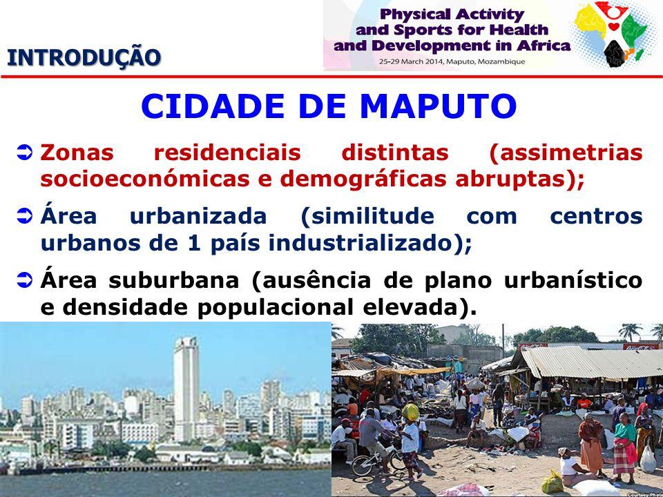 CIDADE DE MAPUTO INTRODUÇÃO