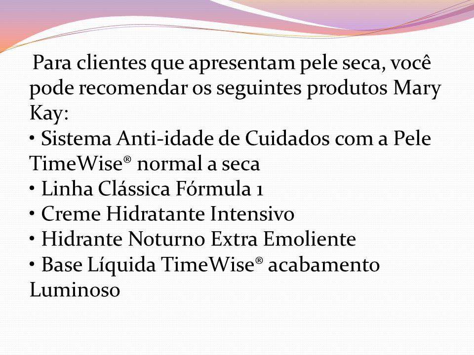 • Sistema Anti-idade de Cuidados com a Pele TimeWise® normal a seca