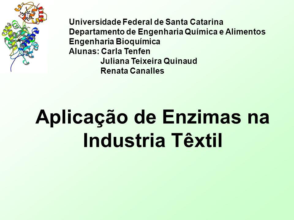 Aplicação de Enzimas na Industria Têxtil
