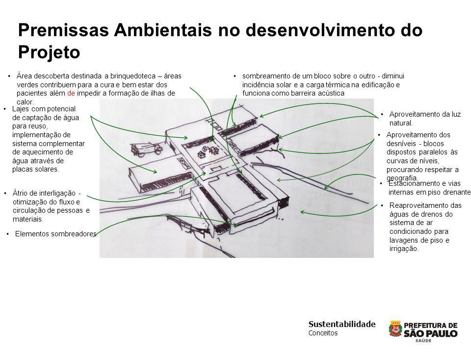 Premissas Ambientais no desenvolvimento do Projeto