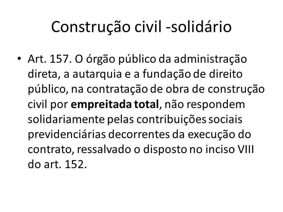 Construção civil -solidário