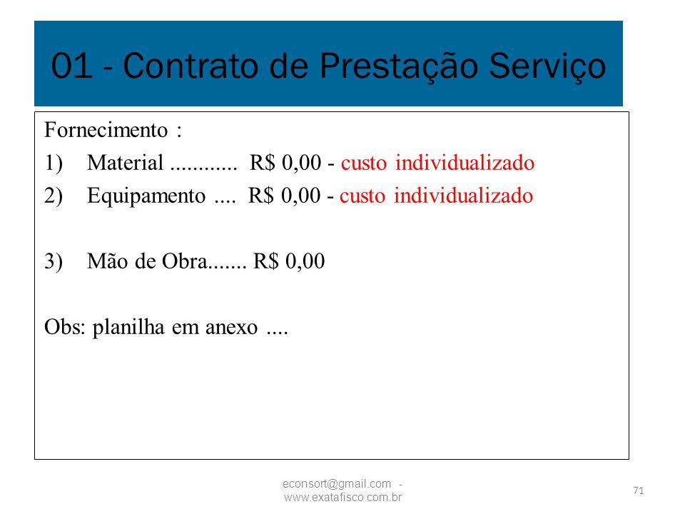 01 - Contrato de Prestação Serviço