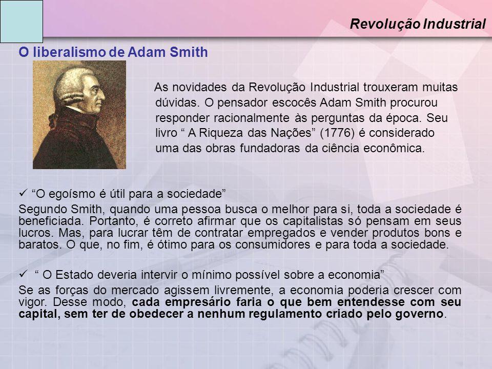 O liberalismo de Adam Smith