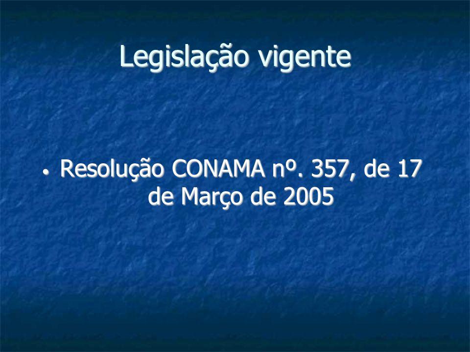 Resolução CONAMA nº. 357, de 17 de Março de 2005