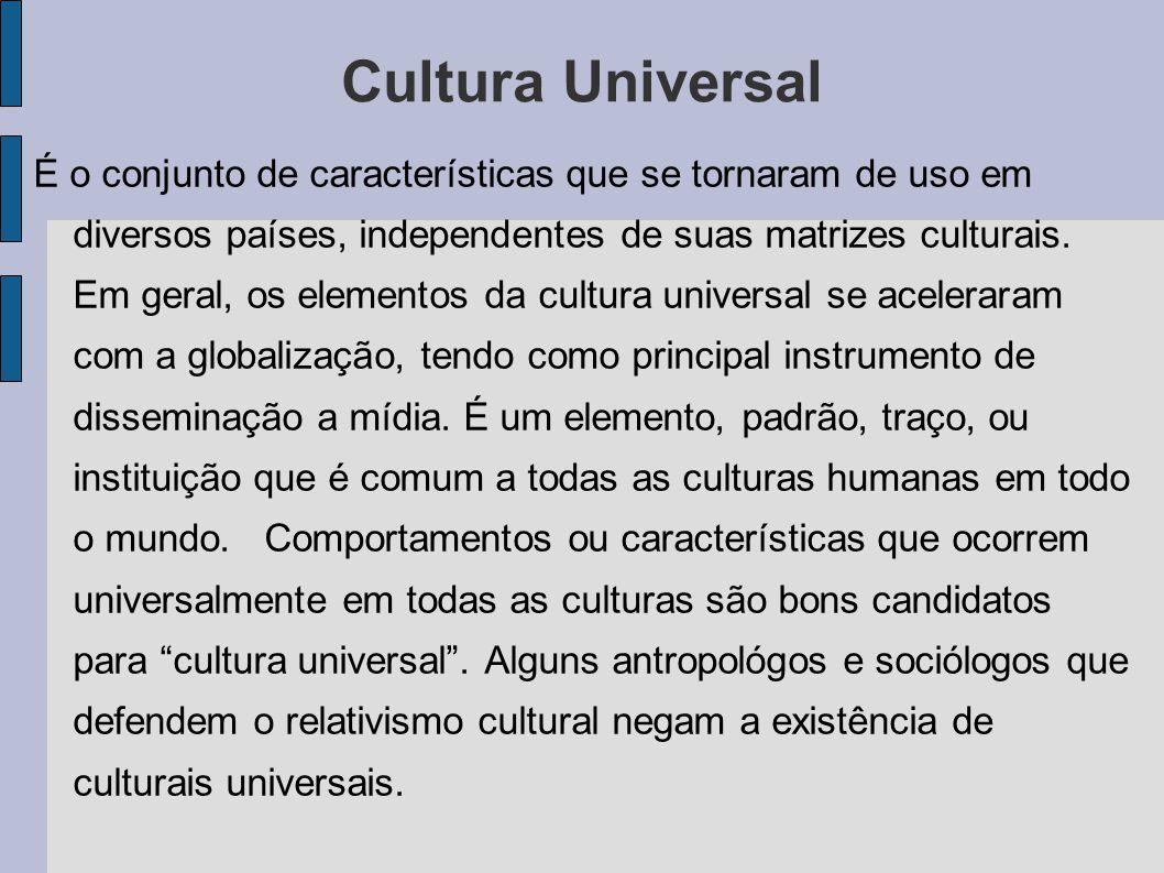 Cultura Universal