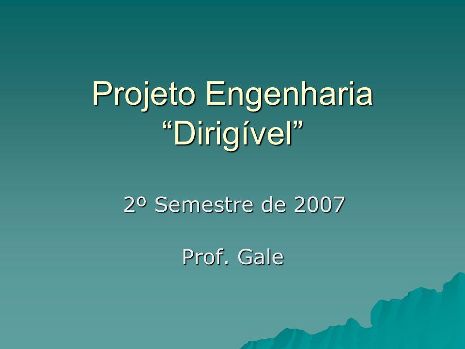 Projeto Engenharia Dirigível