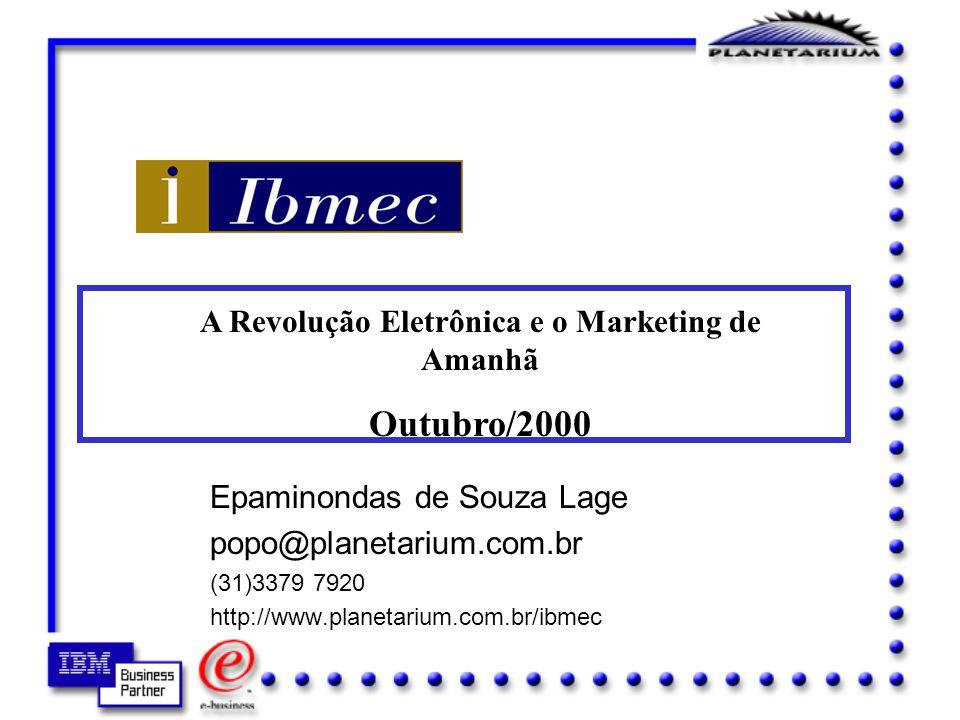 A Revolução Eletrônica e o Marketing de Amanhã