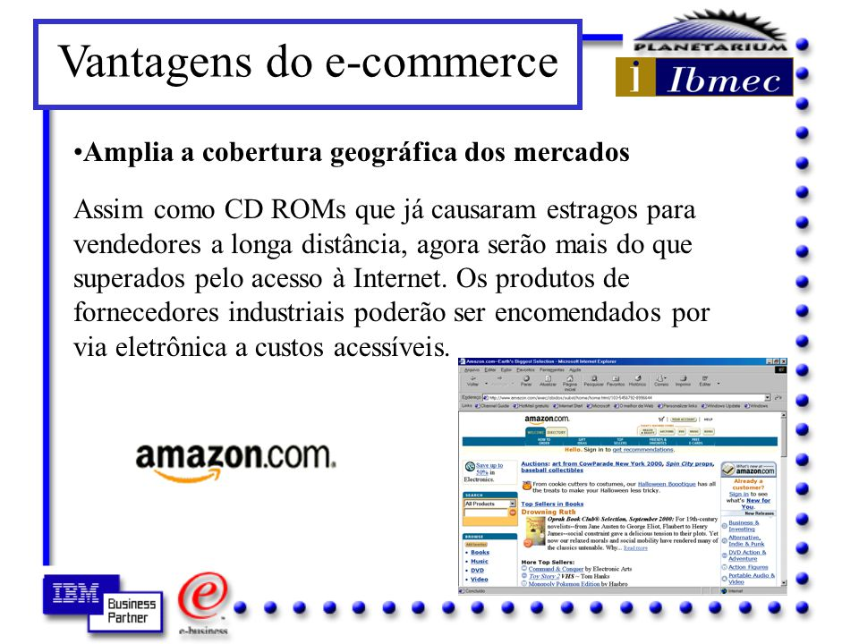 Vantagens do e-commerce