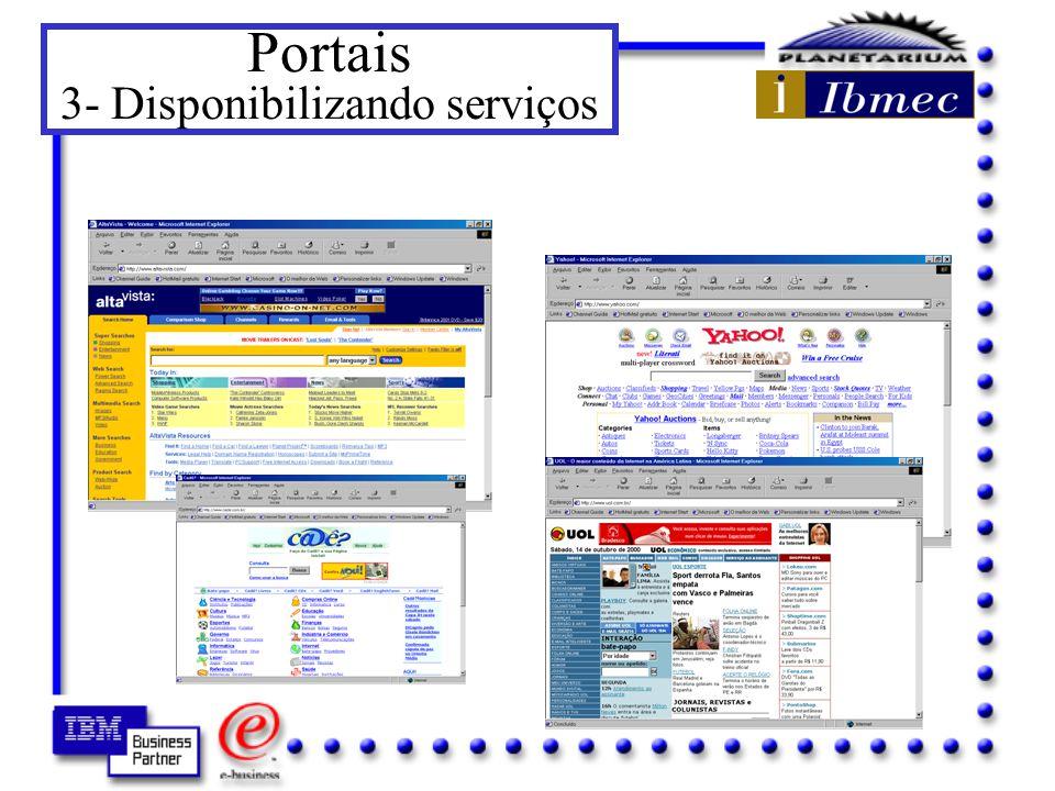 Portais 3- Disponibilizando serviços