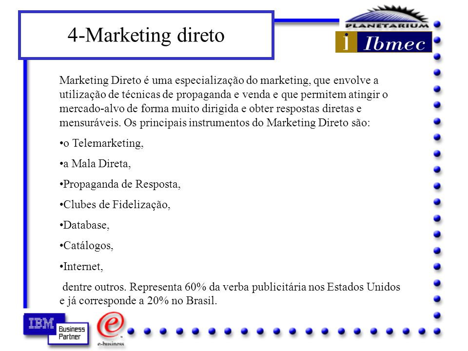 4-Marketing direto