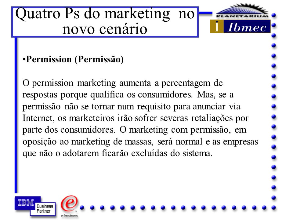 Quatro Ps do marketing no novo cenário