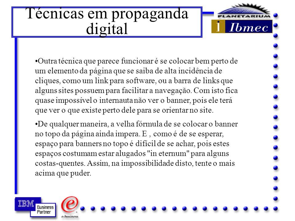 Técnicas em propaganda digital