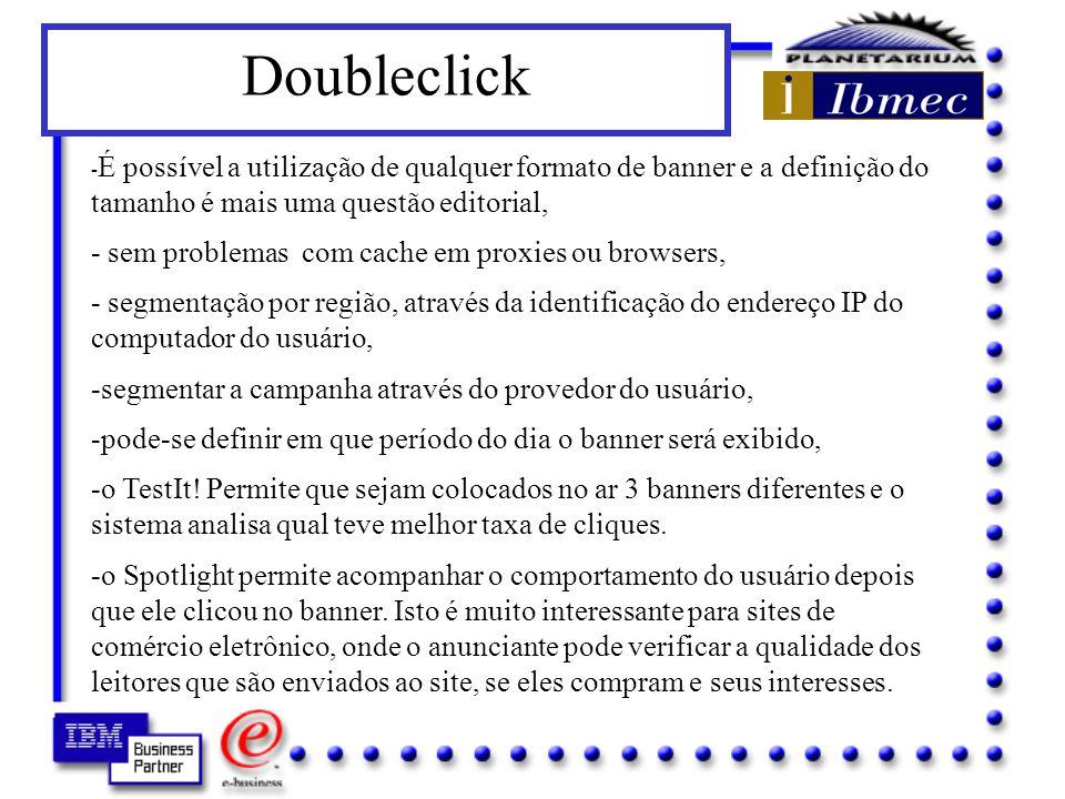 Doubleclick - sem problemas com cache em proxies ou browsers,