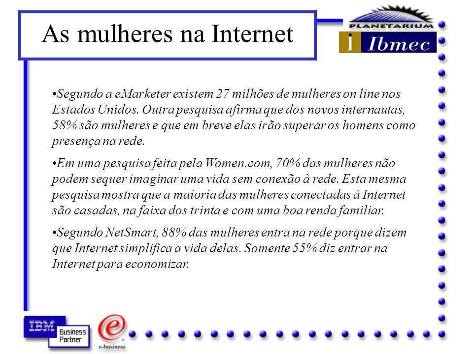 As mulheres na Internet