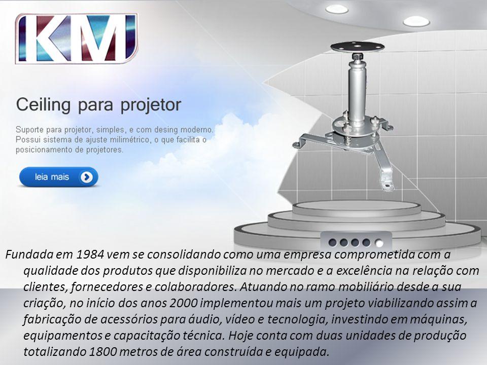 Fundada em 1984 vem se consolidando como uma empresa comprometida com a qualidade dos produtos que disponibiliza no mercado e a excelência na relação com clientes, fornecedores e colaboradores.