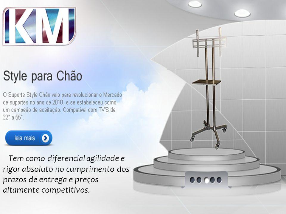 Tem como diferencial agilidade e rigor absoluto no cumprimento dos prazos de entrega e preços altamente competitivos.