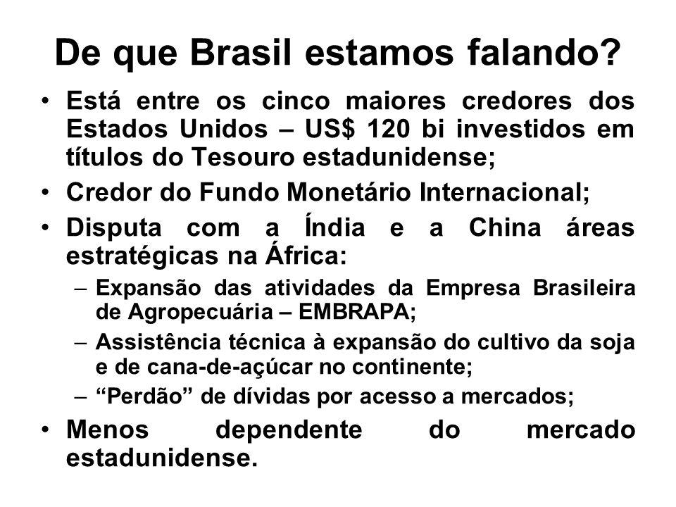 De que Brasil estamos falando