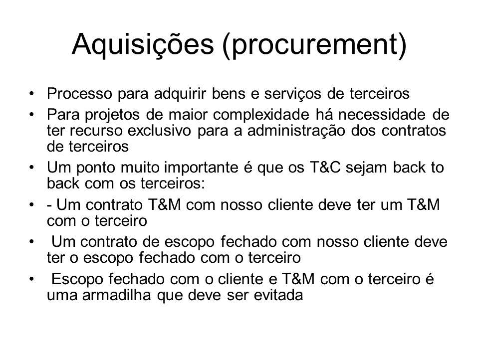 Aquisições (procurement)