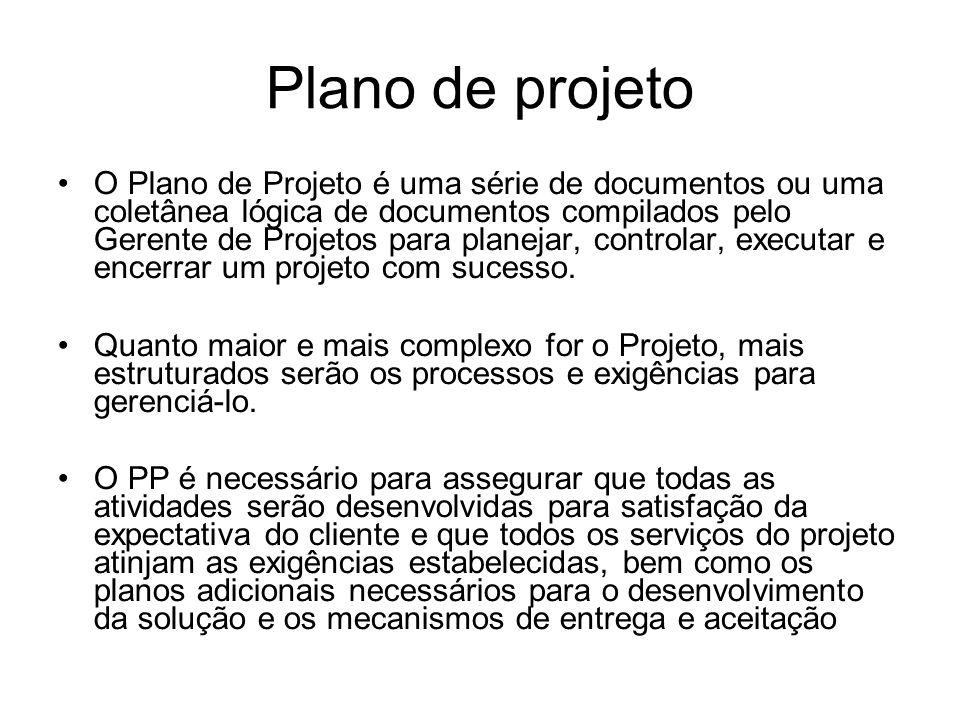 Plano de projeto