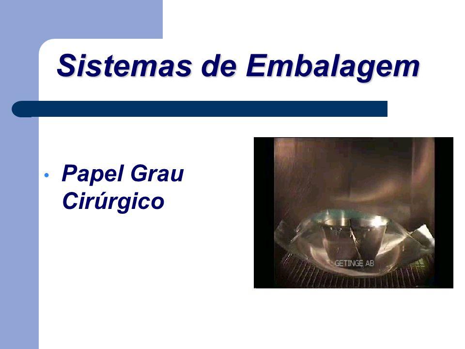 Sistemas de Embalagem Papel Grau Cirúrgico