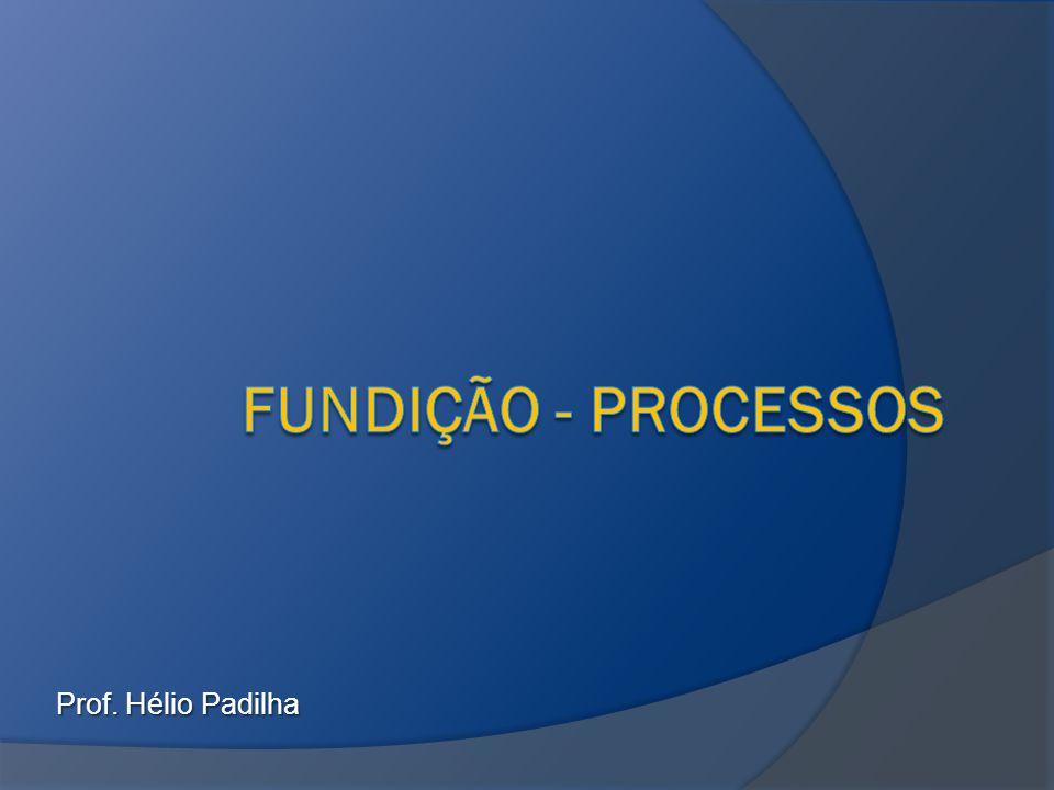 Fundição - processos Prof. Hélio Padilha