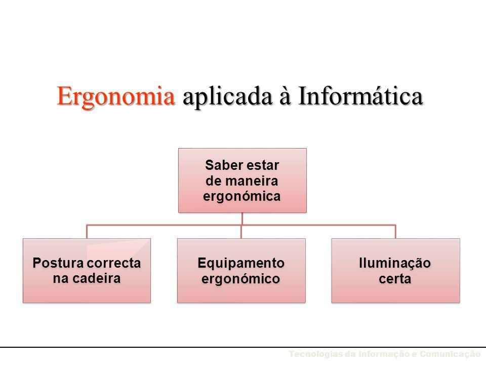 Ergonomia aplicada à Informática