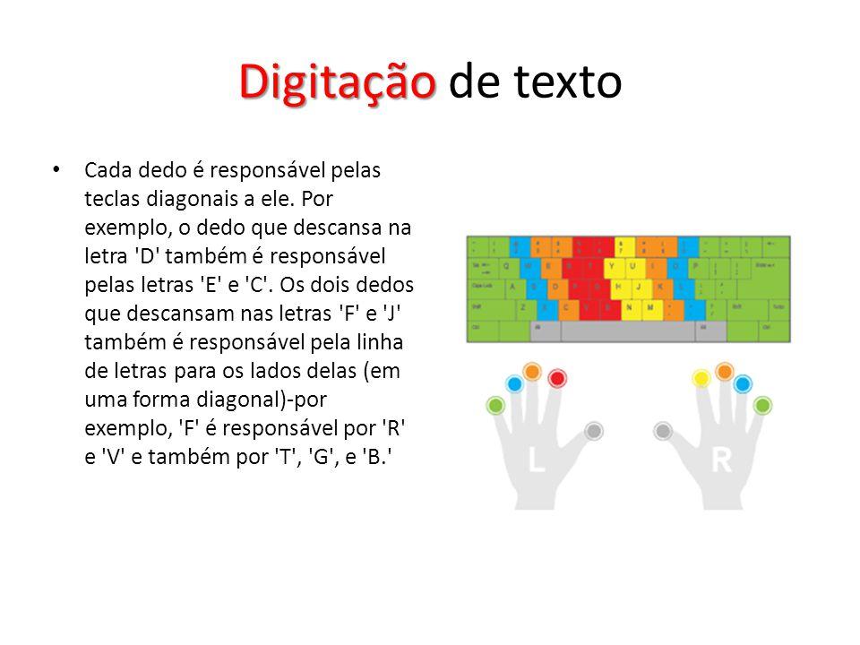 Digitação de texto