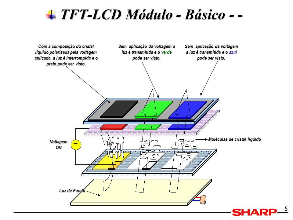 TFT-LCD Módulo - Básico - -