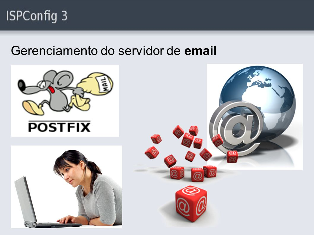 Gerenciamento do servidor de email