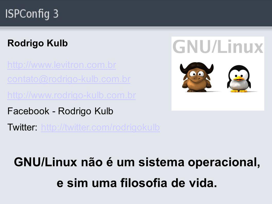GNU/Linux não é um sistema operacional,