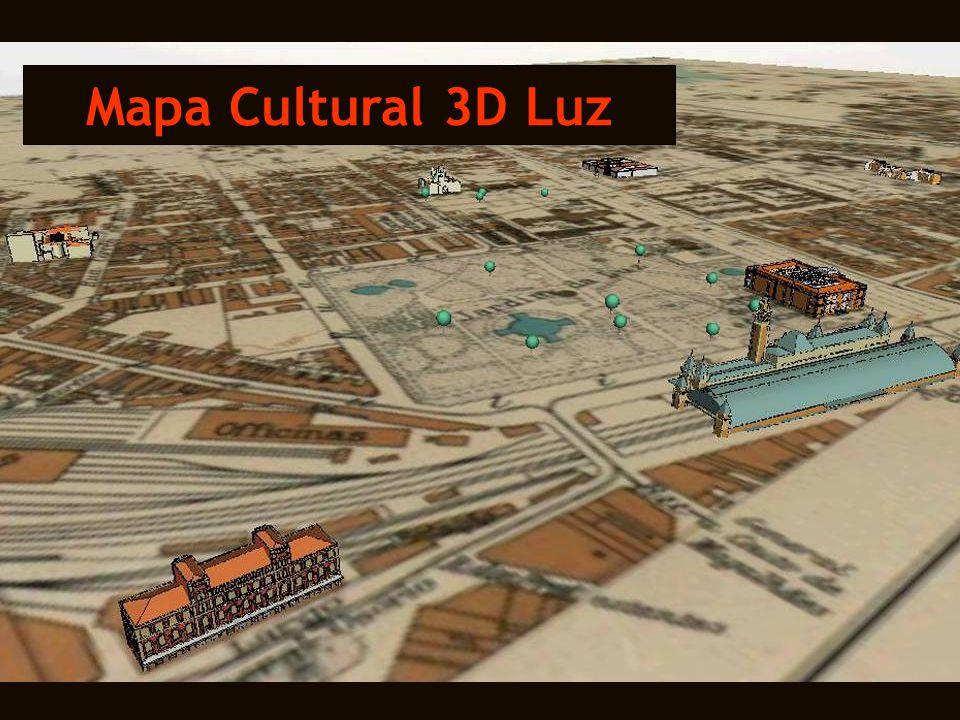 Mapa Cultural 3D Luz
