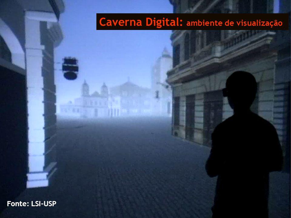 Caverna Digital: ambiente de visualização