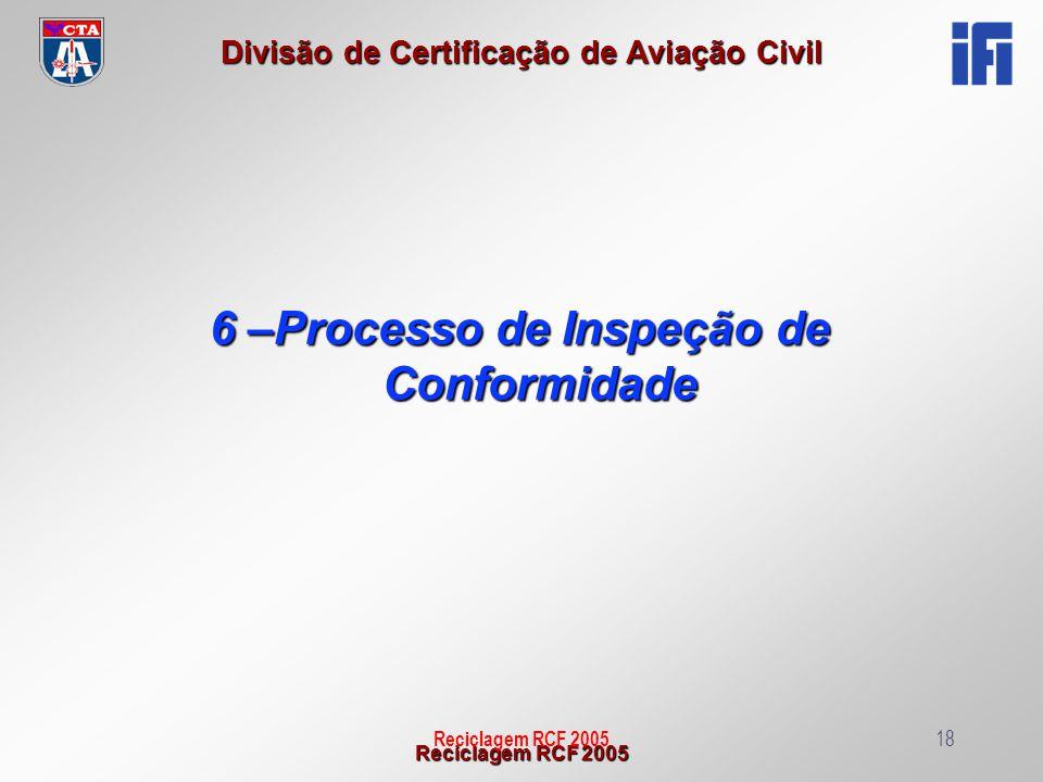 6 –Processo de Inspeção de Conformidade