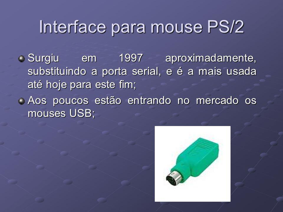 Interface para mouse PS/2