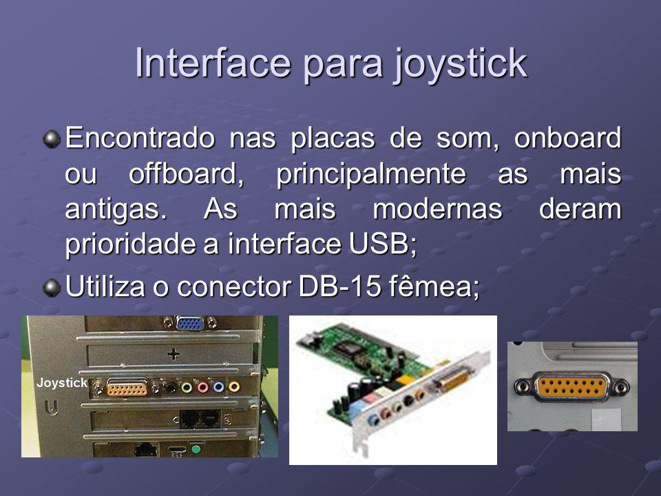 Interface para joystick