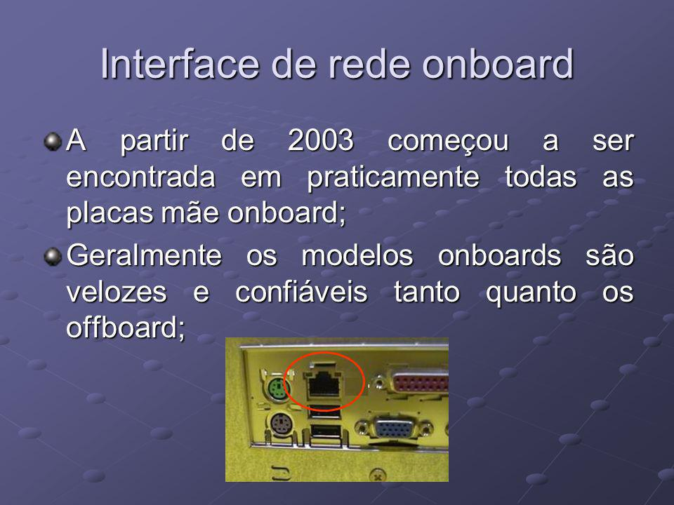 Interface de rede onboard