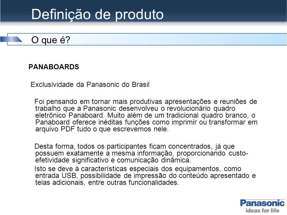 Definição de produto O que é PANABOARDS
