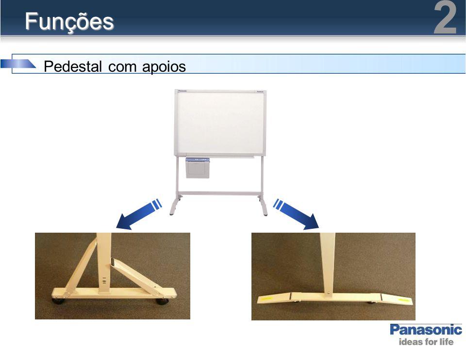 2 Funções Pedestal com apoios