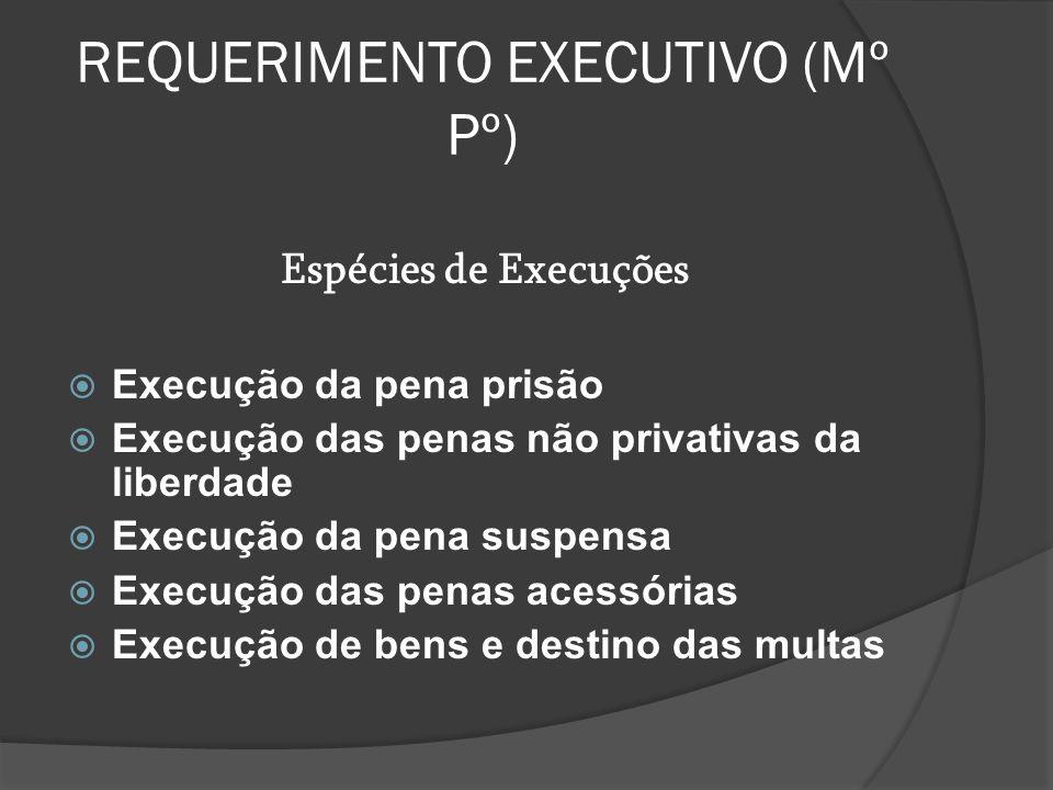 REQUERIMENTO EXECUTIVO (Mº Pº)