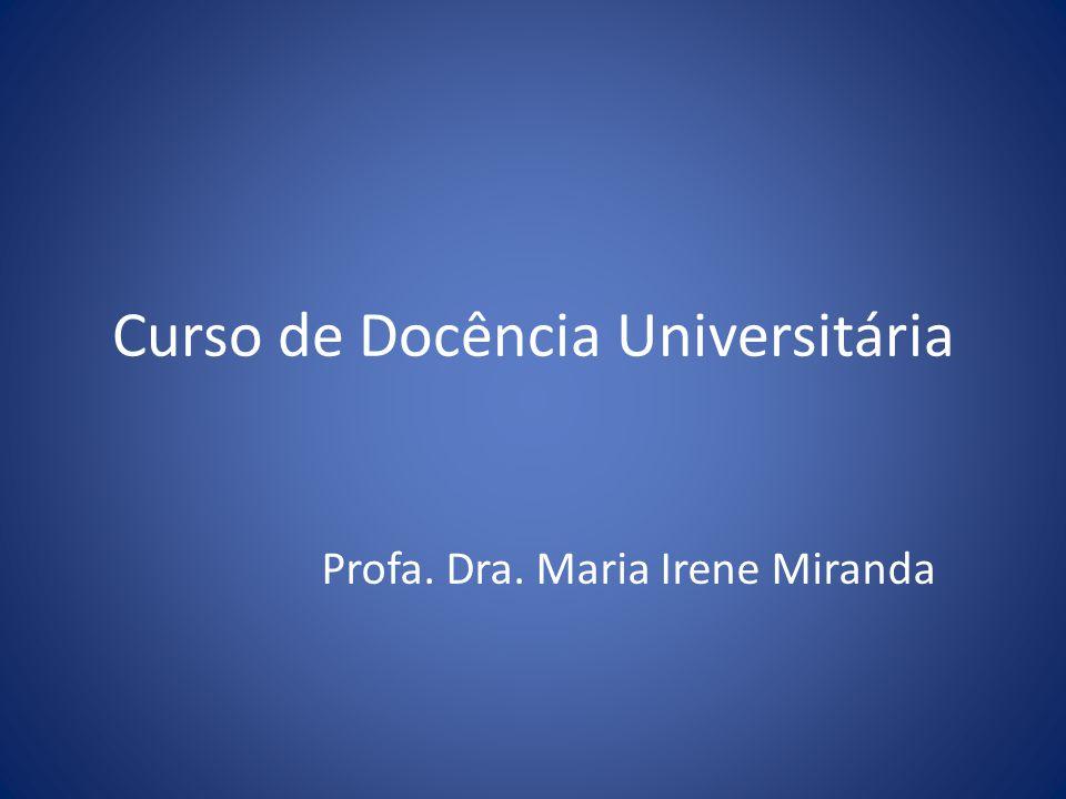 Curso de Docência Universitária