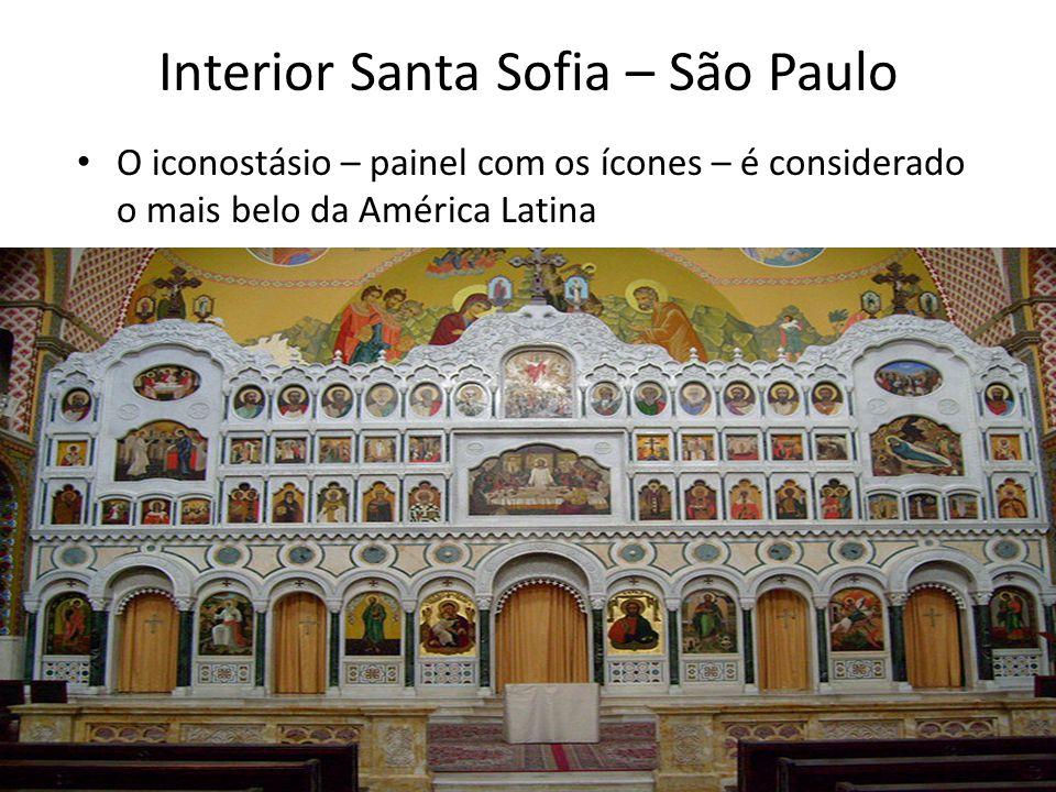 Interior Santa Sofia – São Paulo