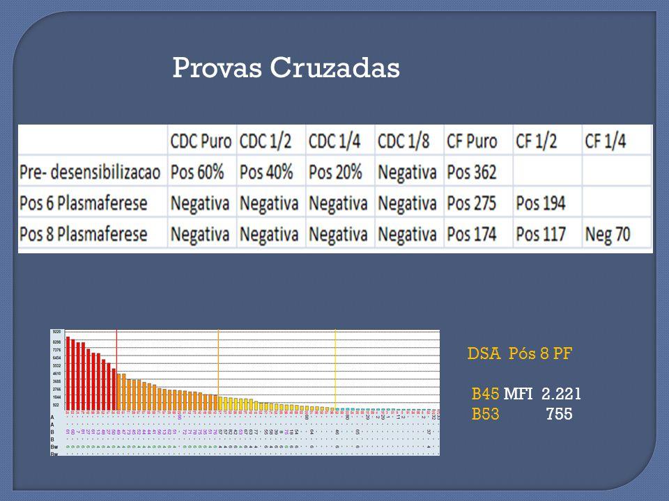 Provas Cruzadas DSA Pós 8 PF B45 MFI 2.221 B53 755