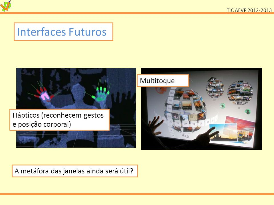 Interfaces Futuros Multitoque