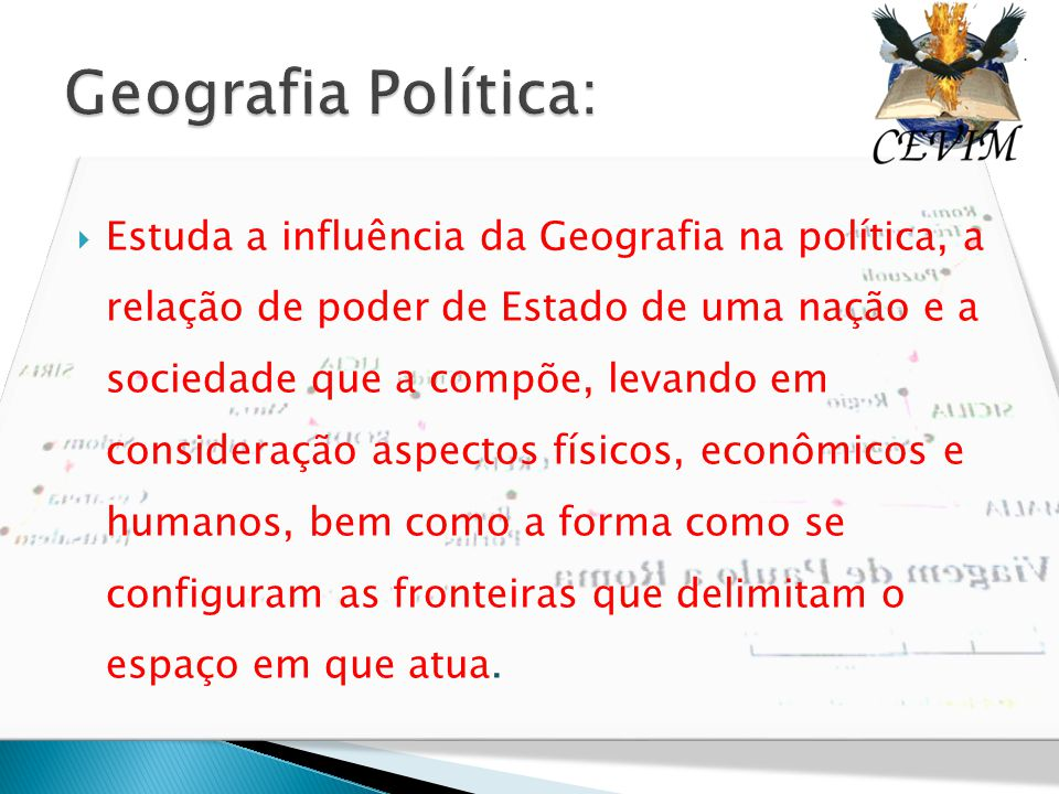 Geografia Política: